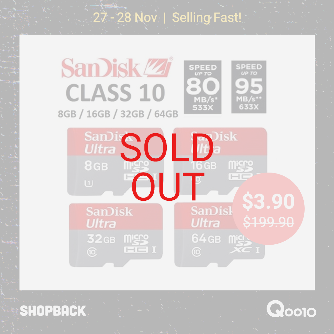 Sandisk MicroSD Memory