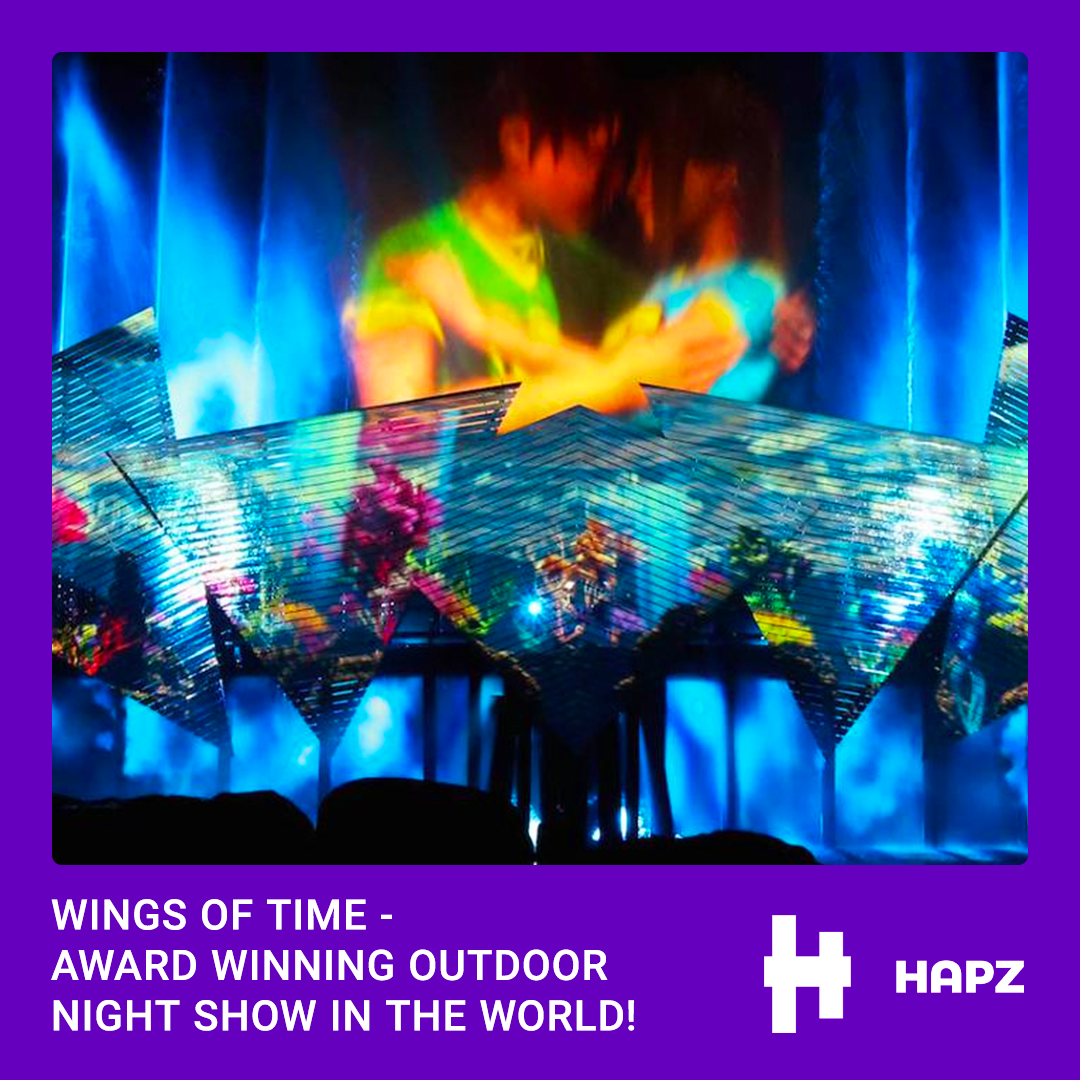 WINGS OF TIME - AWARD WINNING OUTDOOR NIGHT SHOW IN THE WORLD!