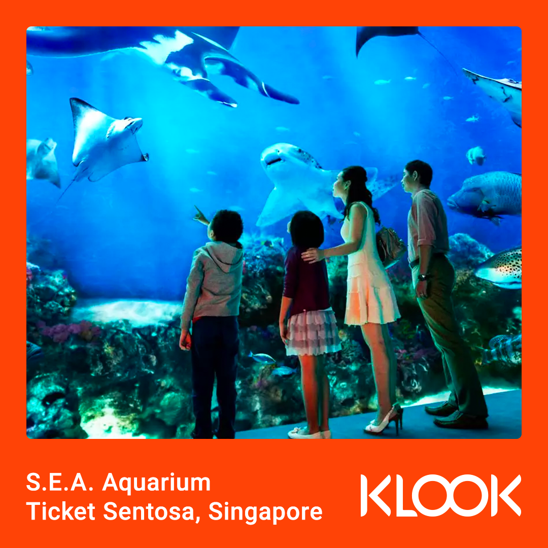 S.E.A. Aquarium Ticket Sentosa, Singapore