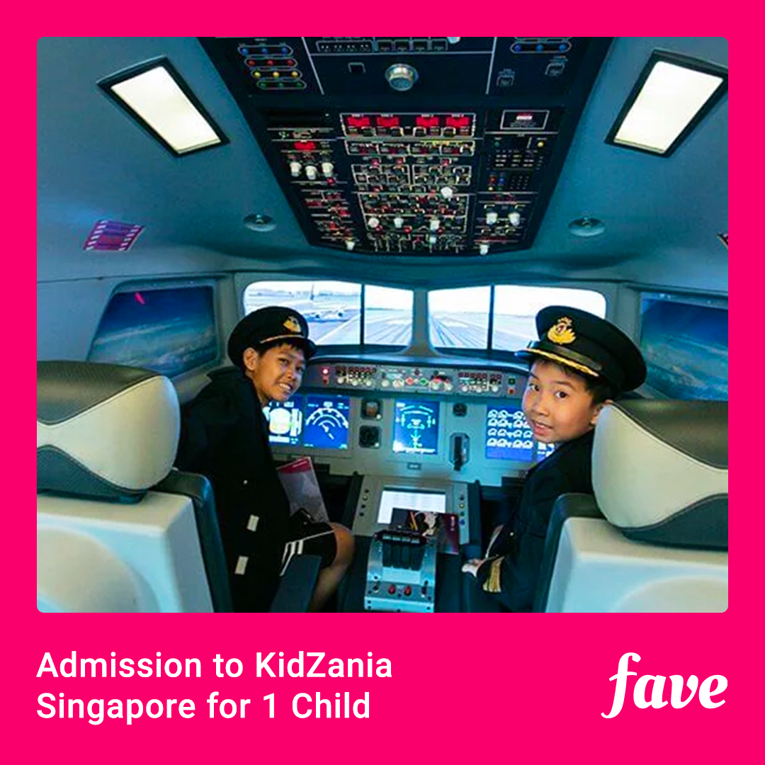KidZania for 1 child