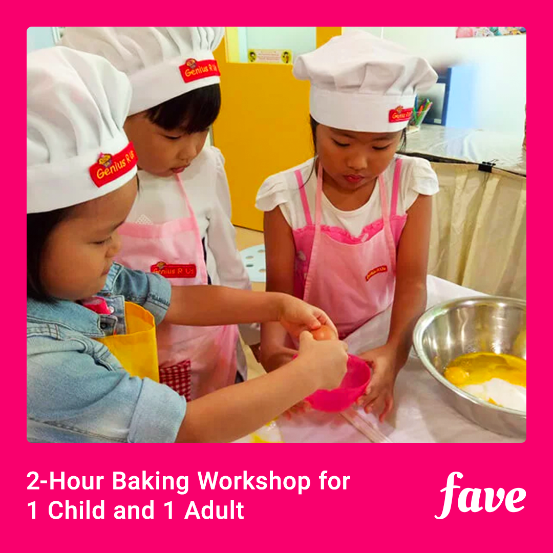 Baking Workshop for 1 Child and 1 Adult