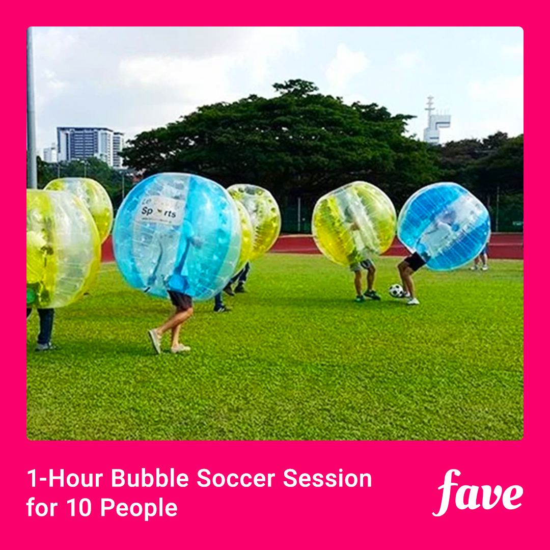 1-Hour Bubble Soccer
