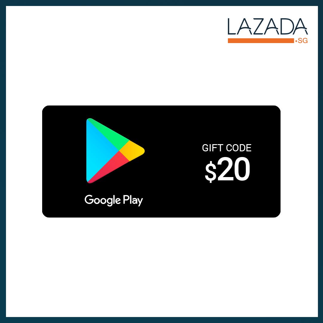 Google Play Gift Code $20