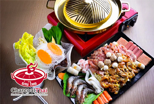 Hot Deal: Mookata Lunch / Dinner Set for 1 Person at Charcoal Thai $9 (U.P. $46.96)