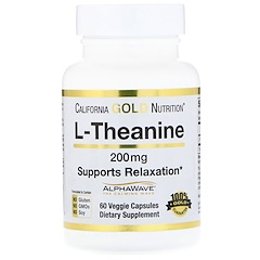 California Gold Nutrition, L-Theanine