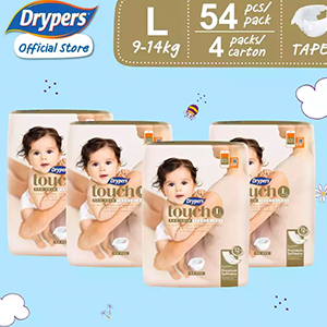 Drypers Touch L (9-14kg)