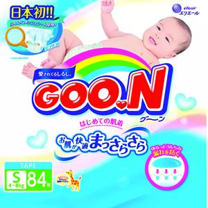 GOO.N Diapers S84 x 4 packs