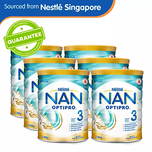 Nestlé® NAN® OPTIPRO® 3 Growing Up Milk 800g x 6 pcs