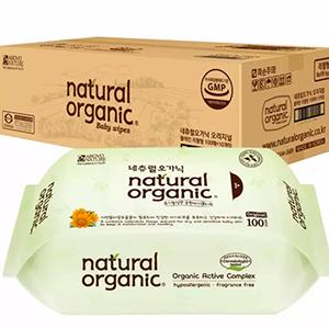 Natural baby wipes 100 sheets