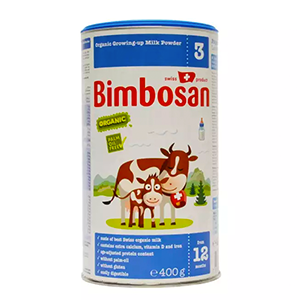 Bimbosan Organic Toddler Formula (Stage 3 / from 12 months) Palm-oil free 400g x 6 pcs / Expiry Feb'20