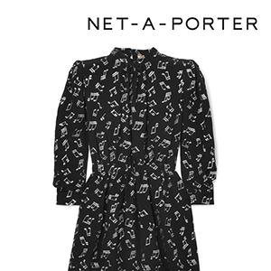 SAINT LAURENT Metallic printed silk-blend chiffon mini dress