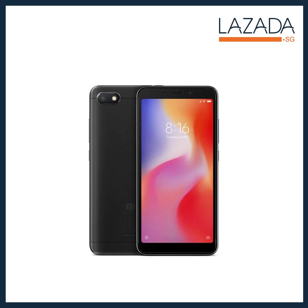 2018 Xiaomi Redmi 6A {GLOBAL VERSION} 32GB/16GB BLACK/GOLD/BLUE