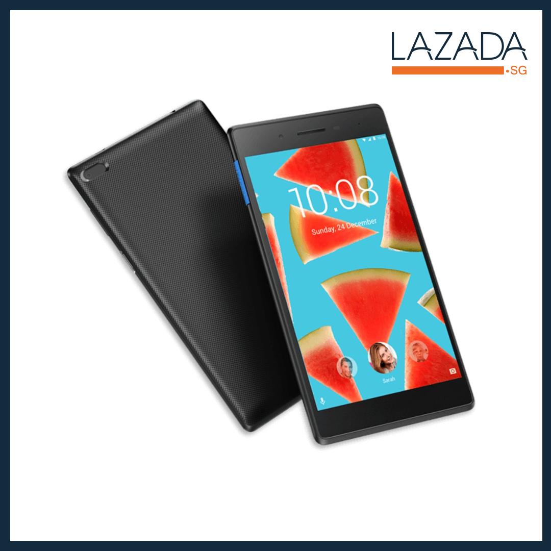 Lenovo Tab 7 Essential Tablet with 3G + WiFi (Black) - 16GB + 2GB RAM (1 Year Warranty)