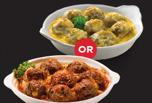 FREE BAKED BEEF BALLS WITH MIN $50 SPENT