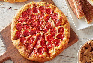 Free Personal Pan Pizza. Redeemable with minimum $15 spent. T&C applies.