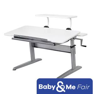 ErgoSmart ErgoJunior Plus Desk + Free Adjustable Shelf