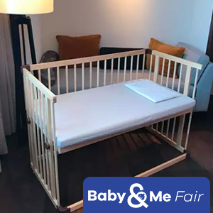 Beblum Lavo 5 (Cot frame + Bedding Set + Okeotex Mattress + Delivery & Assembly)