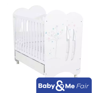 Micuna - Aura w/ Relax System Baby Cot