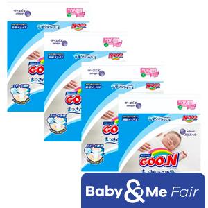 GOO.N JV Diapers NB90 x 4 Packs Deal