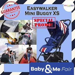EASYWALKER MINI BUGGY XS★ Newborn to 20kg★ Cabin size6kg★ Raincover-bumper bar included★ Spacious basket★Seat is higher than yoyo