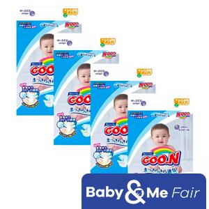 GOO.N JV Diapers M64 x 4 Packs Deal