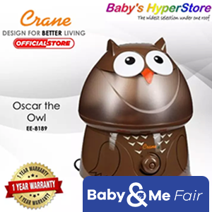 Crane Humidifier ★ Warranty 1 year ★ Runs 24 hours ★ Auto-Off function ★ energy efficient
