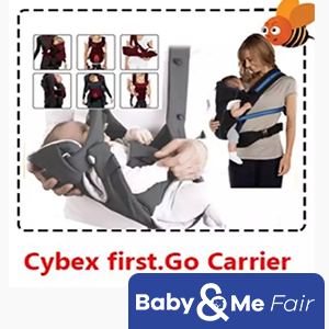 Cybex first.Go Carrier★6 possible carrying positions★5-point harness★horizontal lying position★From BIRTH to18kg★extra head padding★Washable at 30°C★FREE Bfree 240ML Feeding Bottle BPA Free Anti Colic worth $12.90