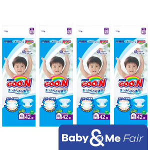 GOO.N JV Diapers XL42 x 4 Packs Deal