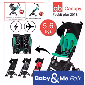 GoodBaby Pockit+ Stroller 2018 (4 colors available) - LOWEST PRICE GUARANTEED! 100% ORIGINAL*From 6 months up to 17 kg