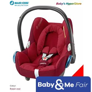 Maxi Cosi Cabriofix Infant Car Seat (Robin red) - LOCAL seller warranty 1 YEAR