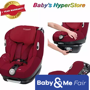 Maxi Cosi Opal Raspberry Red ★ From BIRTH to 18kg - 4 years old ★ Rear-forward facing ★ Machine washable cover ★ Belt method