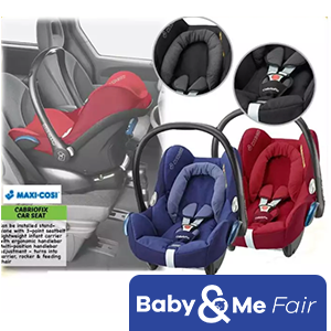 Maxi-Cosi FamilyFix ISOFIX Base and CabrioFix Package * FREE Bfree Car Seat Protector worth $69.90