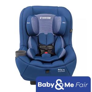 Maxi Cosi Pria 70 Baby Car Seat - Blue Base - FREE Car seat Protector worth $69.90