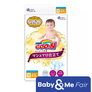GOO.N Marshmallow Premium Soft Diapers M (6 - 11kg) 48s x 4 packs 192pcs