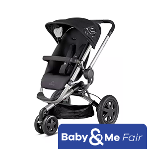 """Quinny Buzz """"New"""" colors (Brown Fierce, Purple Pace and Rocking Black) and Beblum Danzo Infant Car Seat (Black) Bundle Deal"""