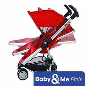 QUINNY ZAPP + ZAPP XTRA SEAT Stroller - Takes up to 20kg. (From birth to 4 years old)