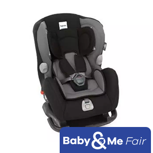 Inglesina Marco Polo Black ★ new born to 4 years old ★ Reward-Forward facing ★ 4recline positions ★ Side impact protector