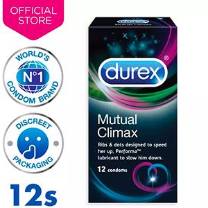 Durex Mutual Climax Condoms x12