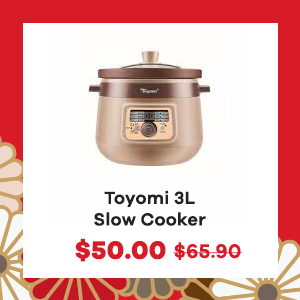 Toyomi 3L Slow Cooker