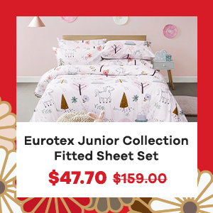 Eurotex Junior Collection Fitted Sheet Set