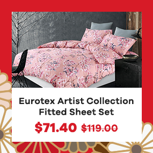 Eurotex Artist Collection Fitted Sheet Set