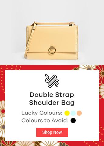 Double Strap Shoulder Bag