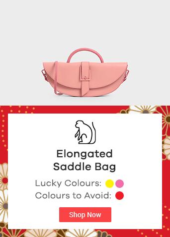 Elongated Saddle Bag
