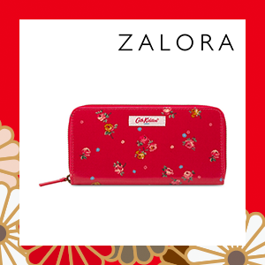 Cath Kidston Wimbourne Ditsy Boxed Continental Zip Wallet
