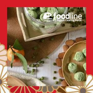 Green Pea Cookies (Vegan & Lower Sugar)