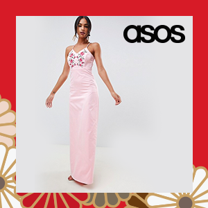 Y.A.S Studio Embroidered Maxi Dress