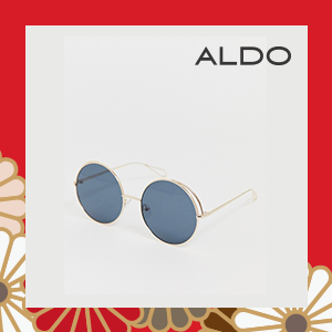 Aldo Wire detail Round Sunglasses