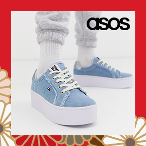 Tommy Jeans icon denim trainers