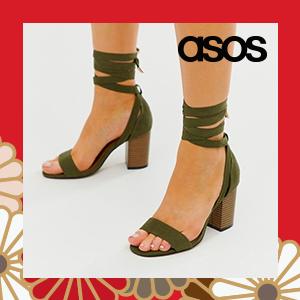 ASOS DESIGN Paramount knitted heels