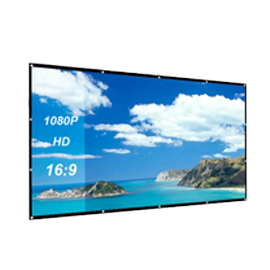 169 106*59 inch portable Projection Screen